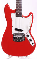 1968 Fender Bronco fiesta red