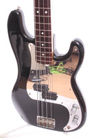 1982 Squier by Fender Precision Bass 62 Reissue black