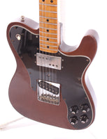 1977 Fender Telecaster Custom mocha brown