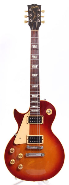 1987 Gibson Les Paul Standard LEFTY heritage cherry sunburst