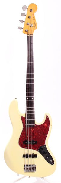 1993 Fender Jazz Bass 62 Reissue vintage white