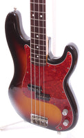 1990 Fender Precision Bass 62 Reissue sunburst