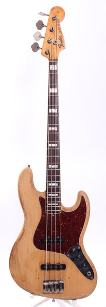 1972 Fender Jazz Bass natural