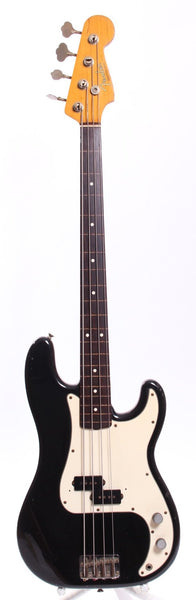 1982 Fender Precision Bass 62 Reissue fretless black