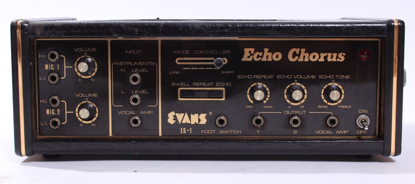 1970s Evans Echo Chorus E5 Tape Delay