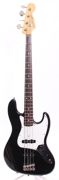 1985 Squier Jazz Bass 62 Reissue black