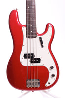1981 Fernandes The Revival Precision Bass '64 Reissue candy apple red