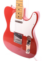 1981 Fender Telecaster International Color Series morocco red