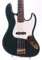 1992 Fender Jazz Bass 62 Reissue translucent blue