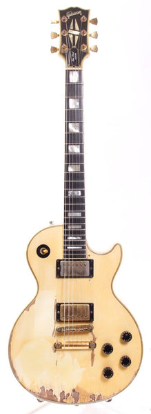 2002 Gibson Les Paul Custom alpine white