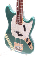 1997 Fender Mustang Bass competition green