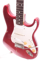 1983 Fender Stratocaster 62 Reissue candy apple red