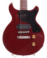1989 Gibson Les Paul Junior DC cherry red