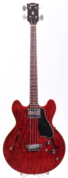 1967 Gibson EB-2 cherry red