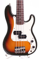 1992 Fender Precision Bass Mini MPB-33 sunburst