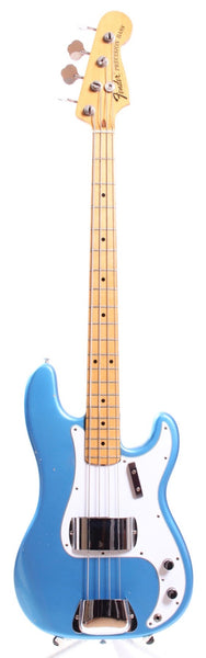 1973 Fender Precision Bass lake placid blue