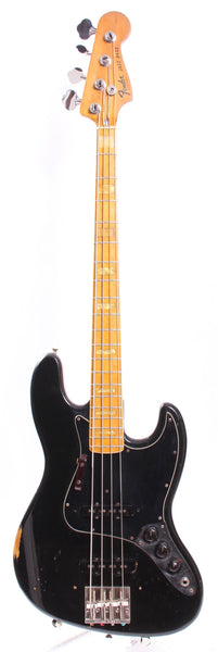 1976 Fender Jazz Bass black