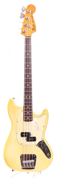 1978 Fender Mustang Bass olympic white