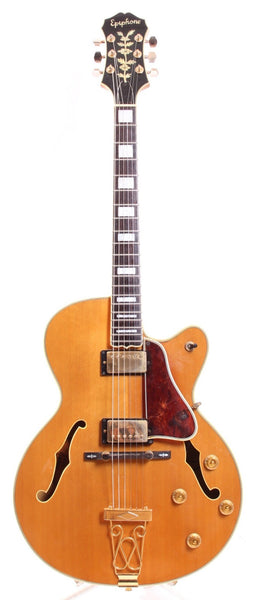 1987 Epiphone Emperor natural