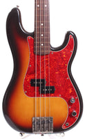 1990 Fender Precision Bass '62 Reissue fretless sunburst