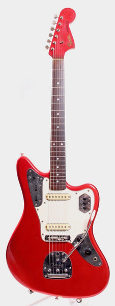 1998 Fender Jaguar 66 Reissue candy apple red