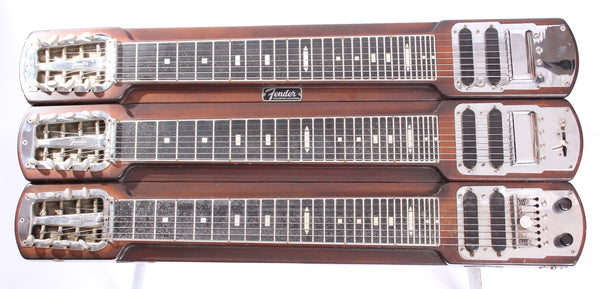 1955 Fender Stringmaster T8 Triple Neck Steel brown