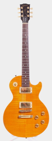 2002 Gibson Les Paul Special Plus flametop amber