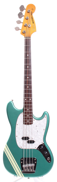 1999 Fender Mustang Bass competition ocean turquoise metallic