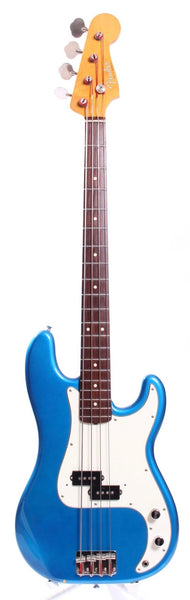 1997 Fender Precision Bass 62 Reissue lake placid blue