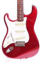 2005 Fender Stratocaster 62 Reissue lefty candy apple red