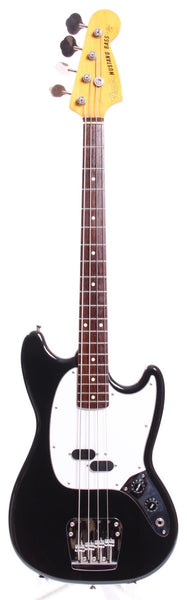 2008 Fender Mustang Bass black
