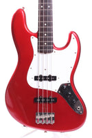 1988 Fender Jazz Bass Special 62 Reissue candy apple red