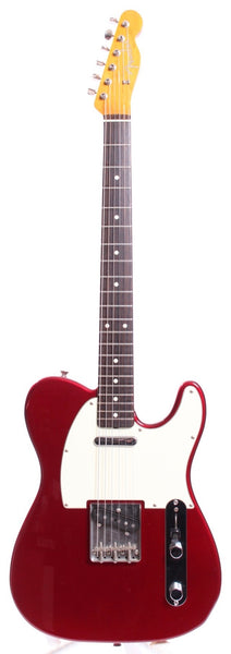 2010 Fender Telecaster 62 Reissue candy apple red