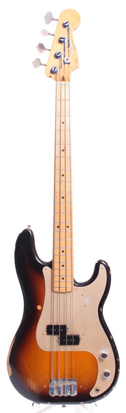 2015 Fender Precision Bass 50s Road Worn sunburst