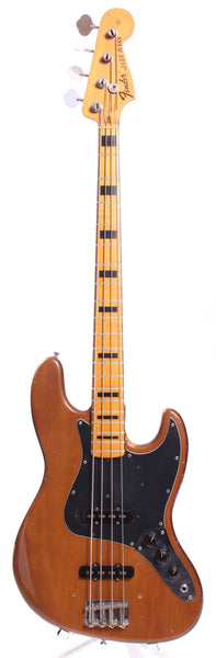 1973 Fender Jazz Bass mocha brown