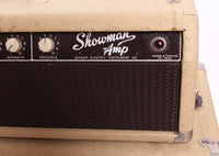 1962 Fender Showman 12 JBL 6G14 export blond oxblood