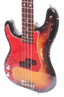 1994 Fender Precision Bass 62 Reissue lefty sunburst