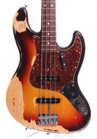 1989 Fender Jazz Bass 62 Reissue JB62-98 sunburst