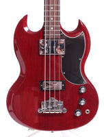 2008 Gibson SG Standard Bass heritage cherry red