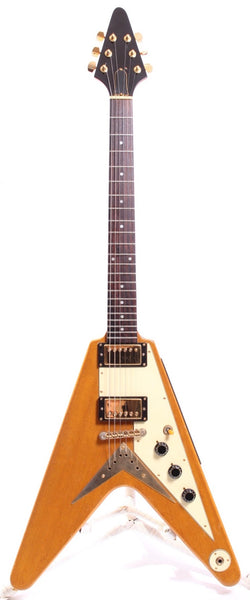 1999 Epiphone Flying V 58 Reissue Relic korina