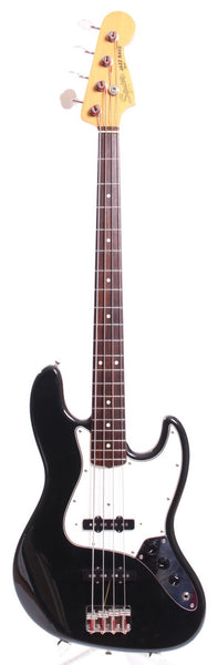 1983 Squier Jazz Bass 62 Reissue black