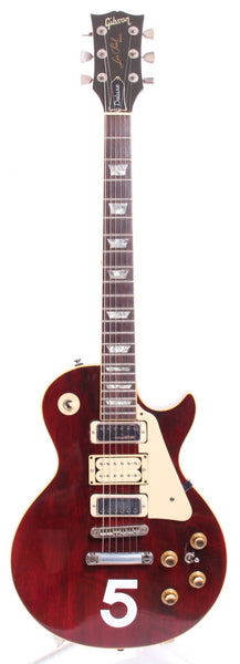 1976 Gibson Les Paul Deluxe Pete Townshend 5 wine red