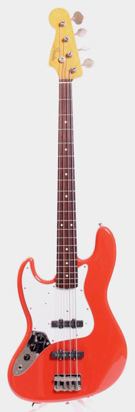 2004 Fender Jazz Bass 62 Reissue lefty fiesta red