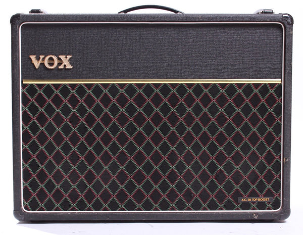 1975 Vox AC30 Top Boost handwired silver alnico