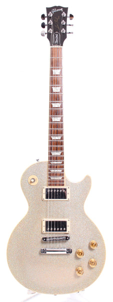 2000 Gibson Les Paul Standard Limited Edition white diamond sparkle