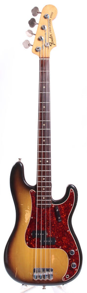1969 Fender Precision Bass sunburst
