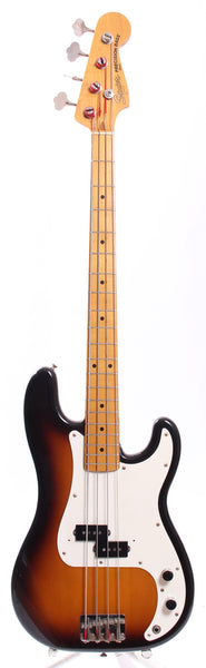 1982 Squier Precision Bass '57 Reissue sunburst