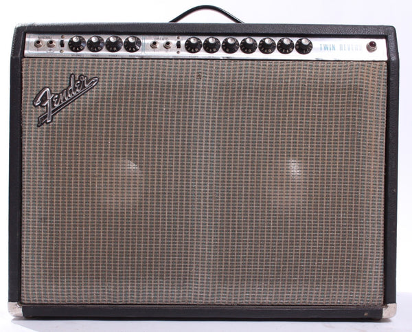 1971 Fender Twin Reverb silverface