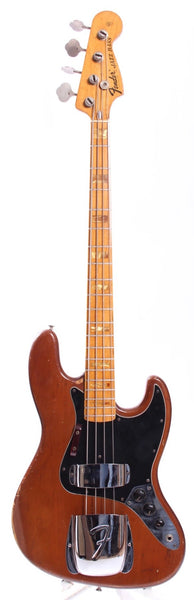1975 Fender Jazz Bass mocha brown