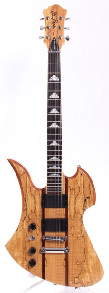 2010 B.C. Rich Mockingbird Exotic Classic lefty natural